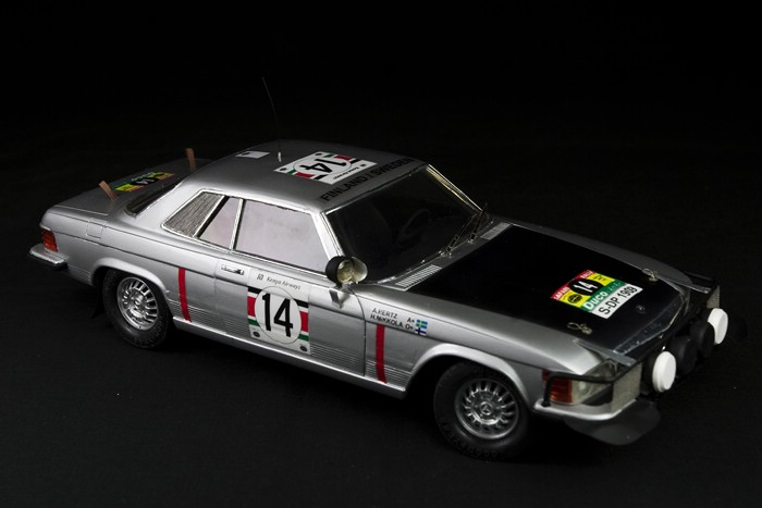 Mercedes benz 450 slc 1979 safari rally mingmingtoys for Mercedes benz 450 slc